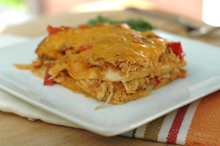 King Ranch Chicken made the way you would, if you had the time! Great ...